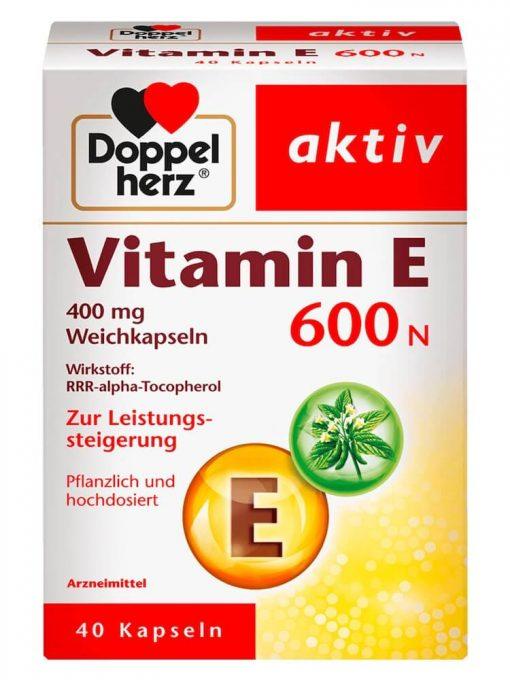 Viên Uống Doppelherz Aktiv Vitamin E 600N Của Đức