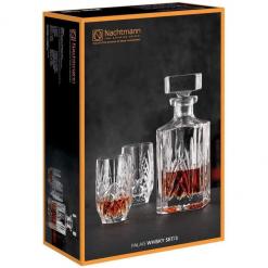 Bộ bình kèm cốc whisky palais nachtmann set 3 món
